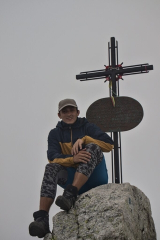 Na vrcholu Slavkovský štít